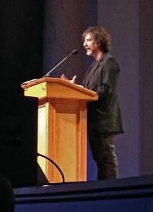 Neil Gaiman in Washington, DC, 5/01/2015